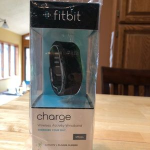 BRAND NEW!! Unopened, Fitbit Charge, Small, Black